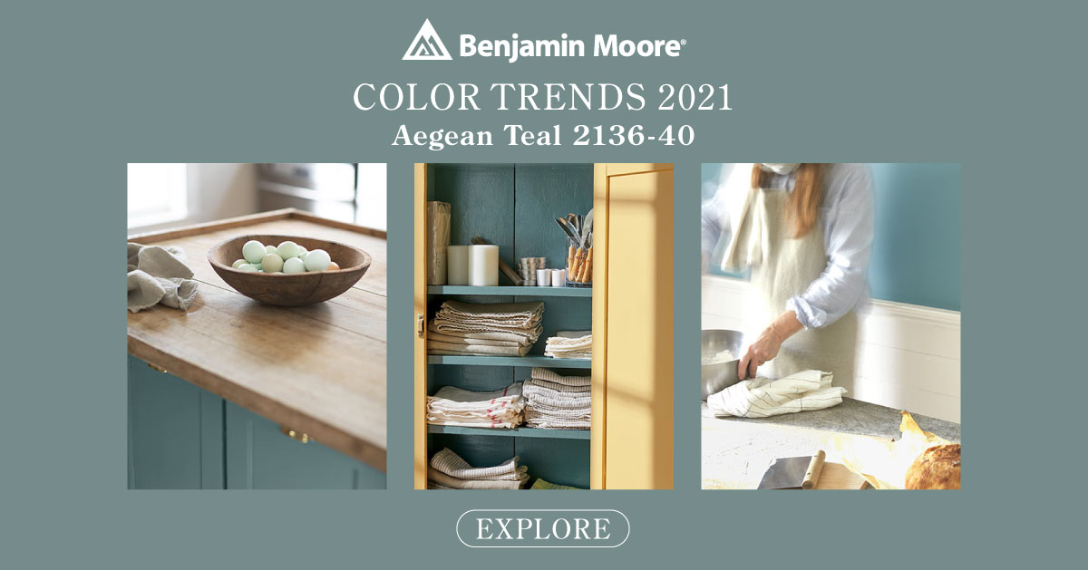 Ben Moore Color of the Year