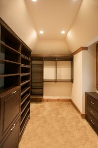 custom built closets